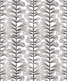 Hand drawn vertical lines seamless pattern. Royalty Free Stock Images