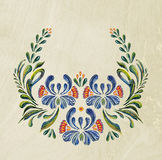 Hand Drawn vintage floral ornament. Royalty Free Stock Photos