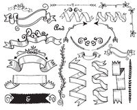 Hand Drawn Vintage Label Royalty Free Stock Image