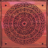 Hand drawn  vintage mandala  in indian style Royalty Free Stock Image