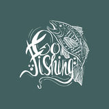 Hand drawn vintage quote : Stock Images