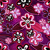 Hand drawn violet background Royalty Free Stock Image