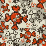 Hand drawn wallpaper Royalty Free Stock Photo