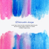Hand drawn watercolor background Royalty Free Stock Photography