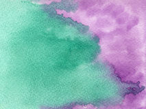 Hand drawn watercolor background Stock Photos