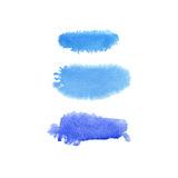 Hand drawn watercolor background Stock Image