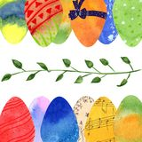 Easter set royalty free stock images