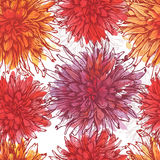 Hand drawn watercolor  floral seamless pattern Stock Photo