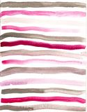 Hand drawn watercolor grey pink background Royalty Free Stock Images