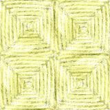 Hand drawn watercolor pencil woven seamless pattern for fabric Royalty Free Stock Photos