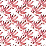 Hand drawn watercolor seamless pattern background. Isolated on white background. Stains on a dark background. Stock Photography
