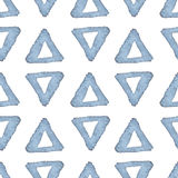 Hand drawn watercolor seamless pattern Stock Images