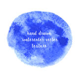 Hand drawn watercolor vector texture Royalty Free Stock Photography