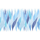 Hand drawn wavy background. Royalty Free Stock Photo