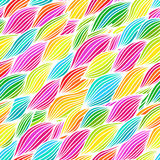 Hand drawn wavy background. Stock Images