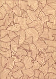 Hand drawn wavy lines texture Stock Image