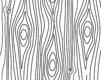 Hand-drawn woods texture. Vector pattern. Stock Image