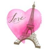Hand-drawn writing of Love Royalty Free Stock Photos