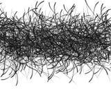 Hand-Drawn Zwarte Permanente Tellers Abstracte Achtergrond Stock Afbeeldingen
