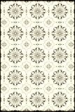 Hand drawnd vintage look designed pattern Royalty Free Stock Photos