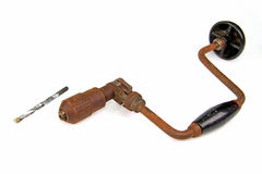 Hand drill Stock Photography
