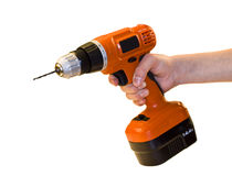 Hand drill Royalty Free Stock Photography