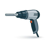 Hand Drilling Machine Royalty Free Stock Photos