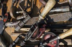 Hand drills Stock Photo