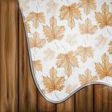 Hand drog Autumn Background Arkivfoto