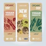 Hand-drog grönsaker på baner också vektor för coreldrawillustration Arkivbilder