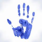 Hand-Druckform Lizenzfreies Stockbild