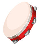 Hand drum on white background Royalty Free Stock Image