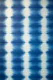 Hand dyed indigo fabric. Stock Images