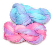 Hand-dyed Wool Royalty Free Stock Images