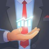 Hand eines Geschäftsmannes Lizenzfreie Stockbilder