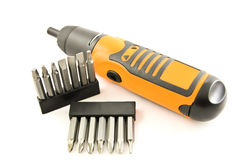 Hand electric drill Royalty Free Stock Image