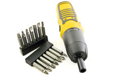Hand electric drill Stock Image