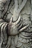 Hand en Snor Royalty-vrije Stock Afbeeldingen