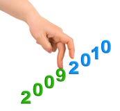Hand en treden 2010 Royalty-vrije Stock Foto