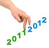 Hand en treden 2012 Royalty-vrije Stock Foto's