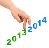 Hand en treden 2014 Royalty-vrije Stock Fotografie