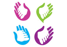 Hand en Voet vector illustratie