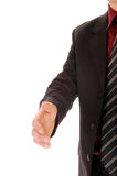 Hand end a man. Royalty Free Stock Images