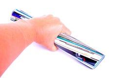 Hand-ergreifenzeitschrift Lizenzfreie Stockfotos