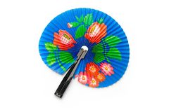 Hand fan Royalty Free Stock Photo
