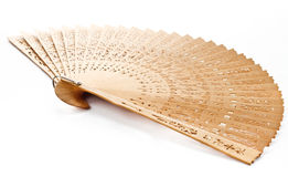 A hand fan Royalty Free Stock Image