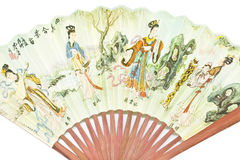 Hand Fan Chinese Stock Photo