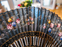 Hand fan Royalty Free Stock Image