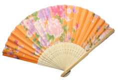Hand fan Stock Images