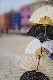 Hand fans Royalty Free Stock Images